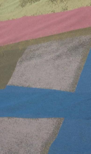 Fernanda Yamamoto privilegiou as formas geométricas e as cores rosas, roxos, azul royal, amarelos, cinza, laranja, nude e lilás. Divulgação