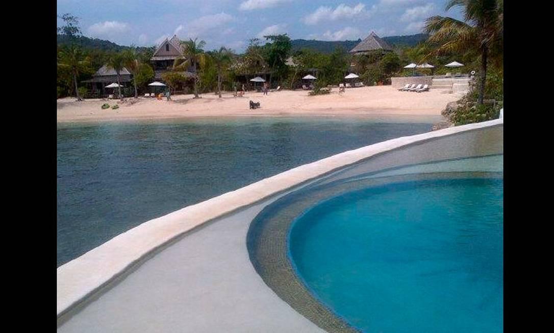 O badalado resort GoldenEye, onde Isabeli e Rohan ficaram no fim de abril, fica em Oracabessa, ao leste de Ocho Rios Reprodução