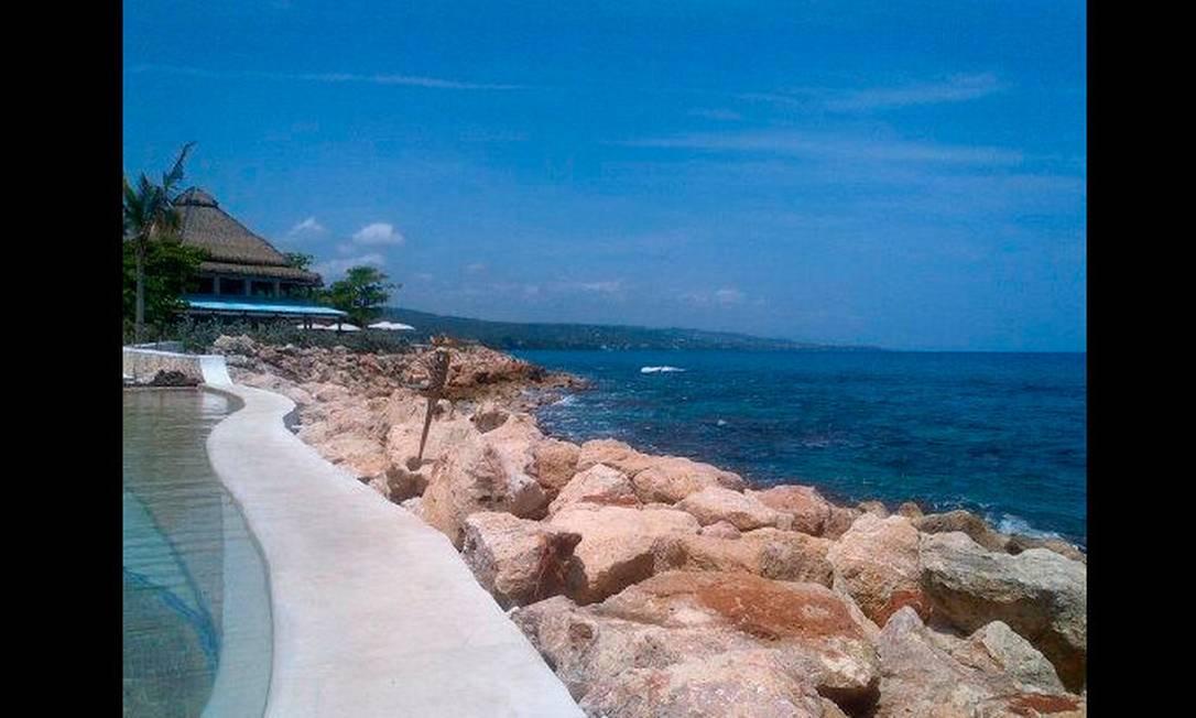 Mais um registro do resort Reprodução