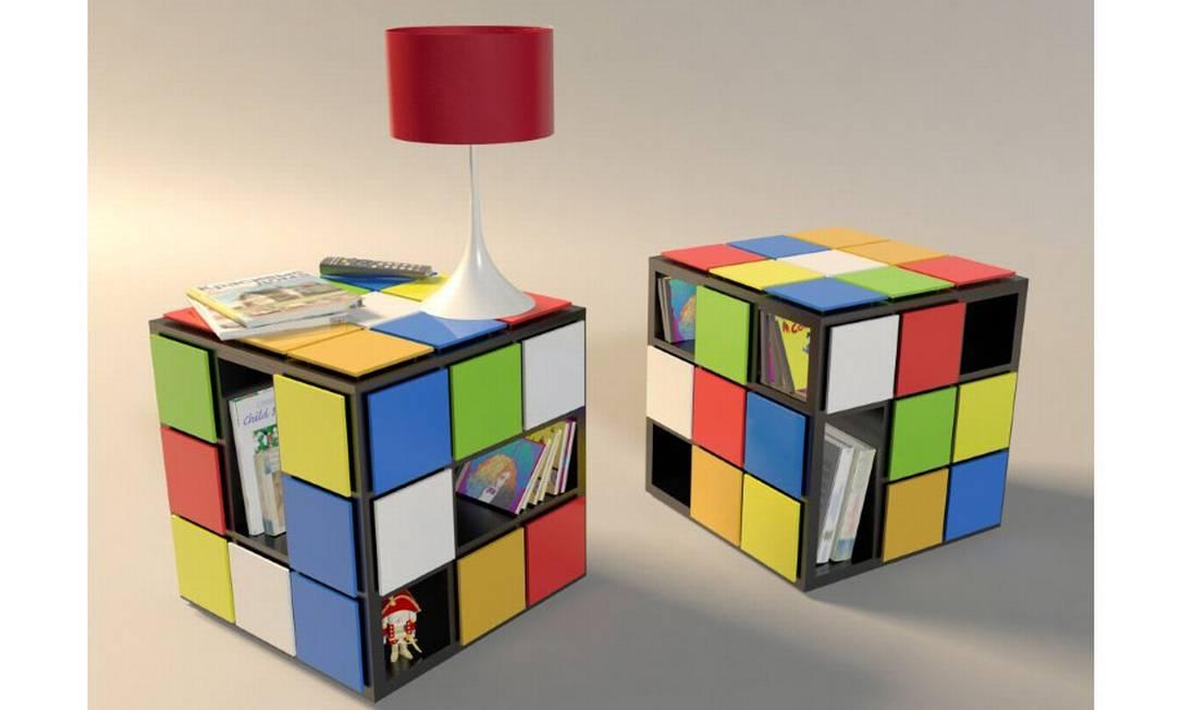'Kub+': As mesinhas em forma de cubo mágico, do brasileiro Fabio Teixeira, prometem fazer sucesso entre os geeks Reprodução