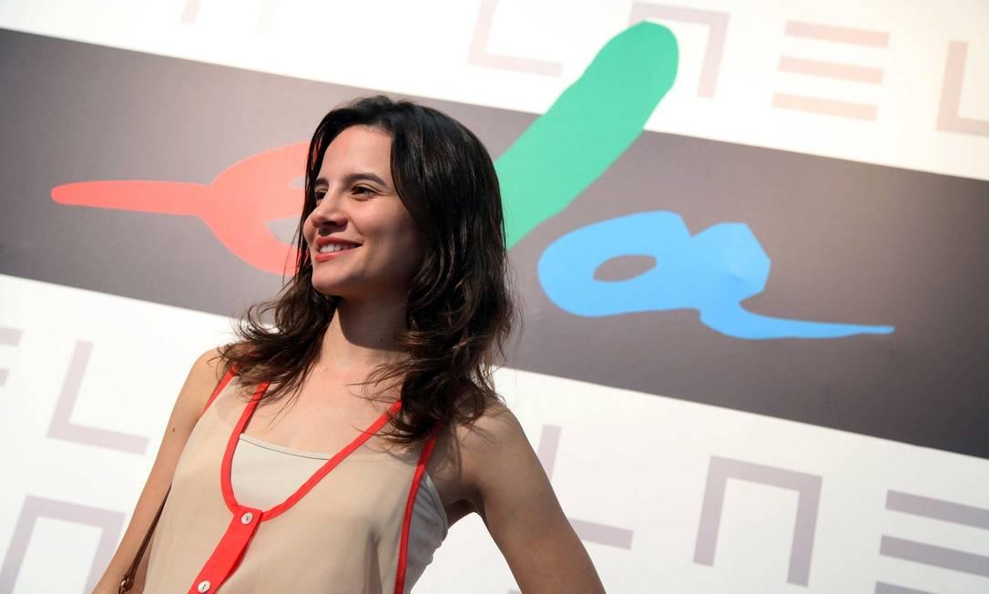 A atriz Bianca Comparato foi conferir os desfiles e o Espaço Ela Ana Branco / Ana Branco / Agencia O Globo