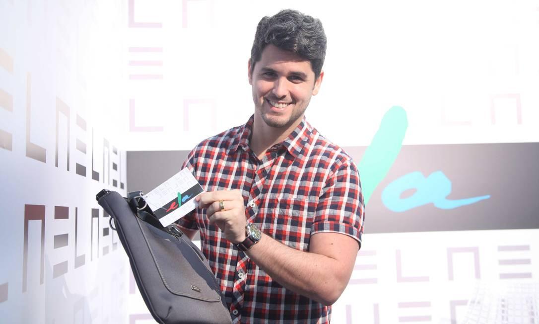 Rony Meisler, da Reserva, também foi conferir o espaço Ana Branco / Ana Branco / Agencia O Globo