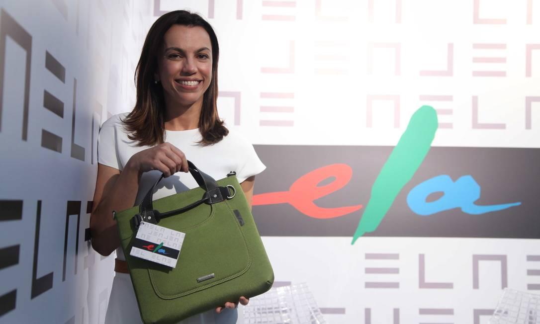 A jornalista Ana Paula Araújo marcou presença no Espaço Ela Ana Branco / Ana Branco / Agencia O Globo