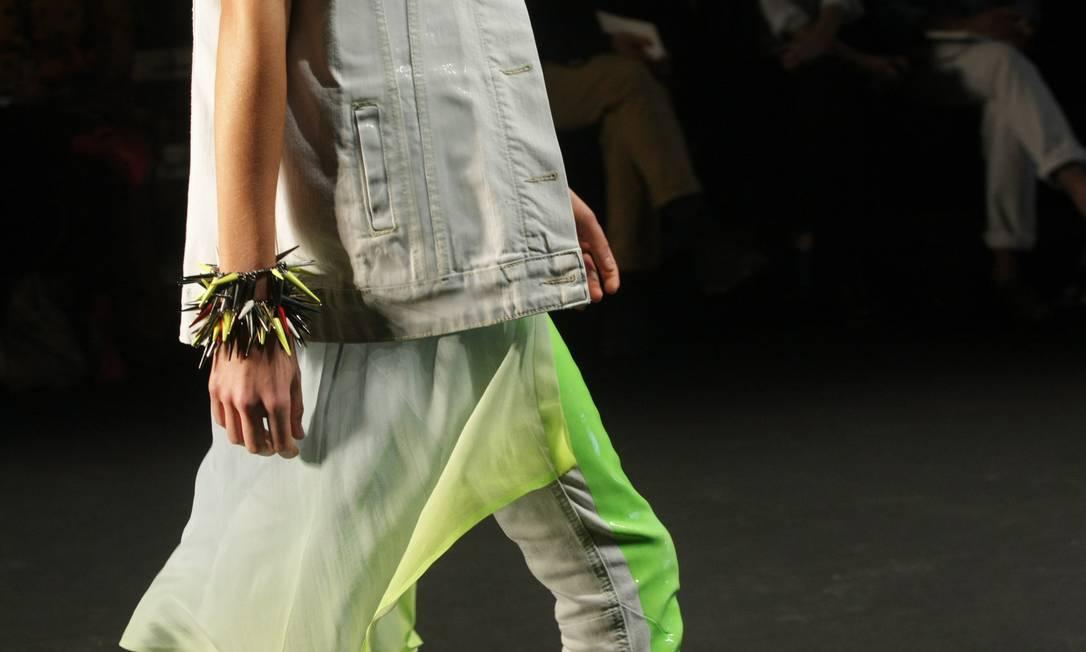O comprimento mullet promete ser a moda do verão. Laura Marques / O Globo