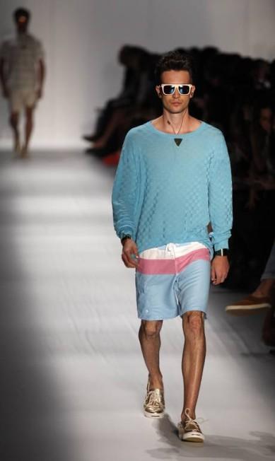 Ausländer quer se firmar na moda verão e tem investido em bermudas de surf Fabio Rossi / O Globo