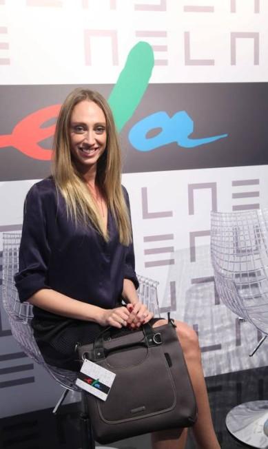 Thalyta Pugliesi também foi ao espaço ELA e ganhou a bolsa da Uncle K Ana Branco / O Globo