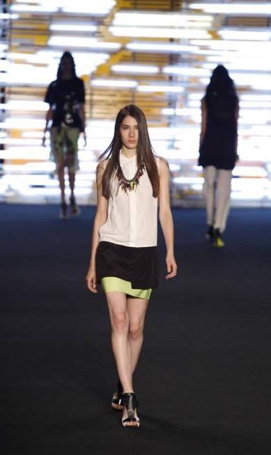 Espaço Fashion foi a terceira a desfilar no quarto dia de Fashion Rio Fabio Rossi / Fabio Rossi / Agência O Globo