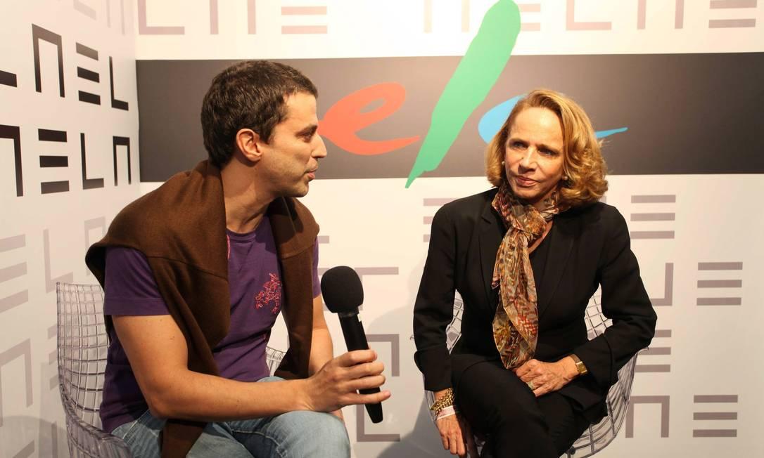 Lenny Niemeyer foi entrevistada por Gustavo Autran Ana Branco / Ana Branco