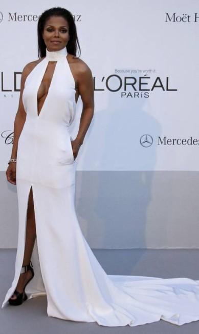Janet Jackson também participa do evento beneficente amfAR's Cinema Against AIDS 2012 Reuters
