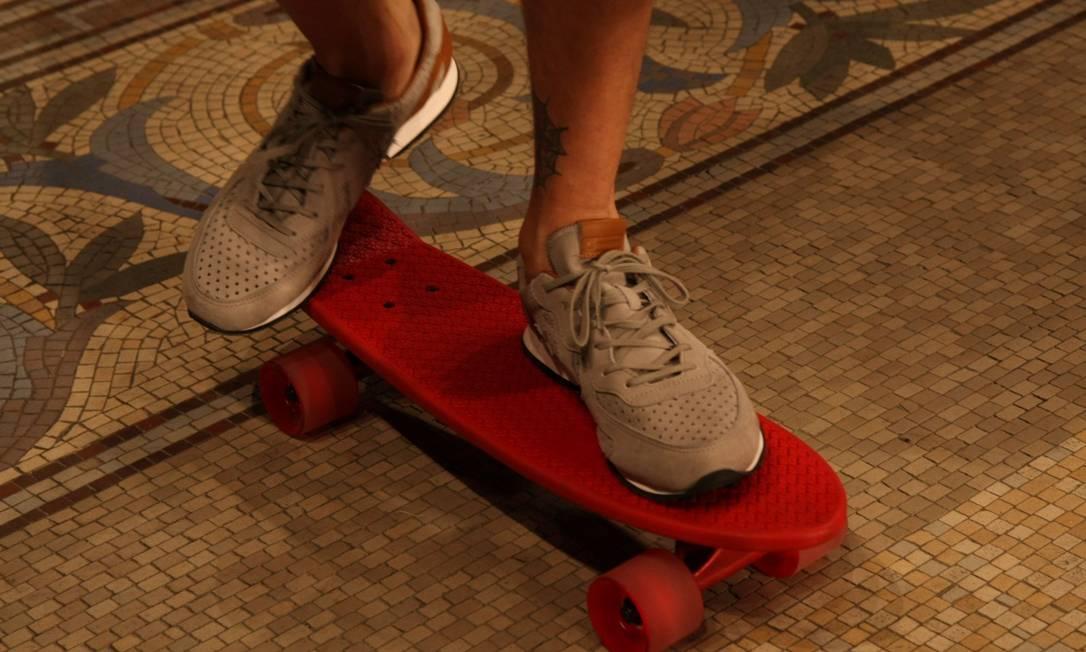Skate invade a passarela do Jockey Club Paula Giolito/O Globo