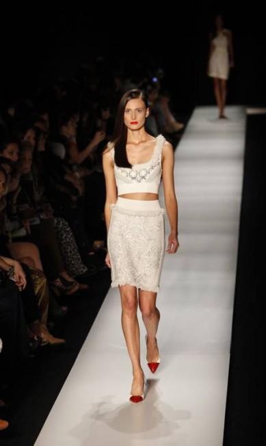 Conjunto com pérolas é o preferido da estilista Liliane Rebehy Fabio Rossi/O Globo