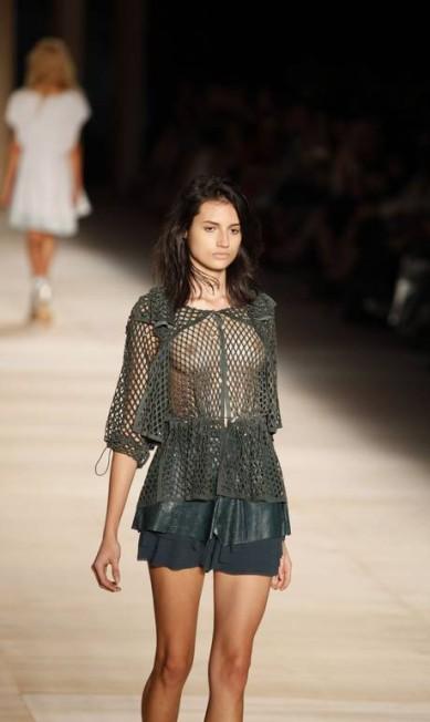 Tricô de seda, chamois e linho são alguns dos tecidos usados na coleção Fábio Rossi/O Globo