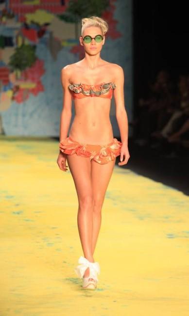 A grife Salinas comemorou seus 30 anos nesta edição do Fashion Rio Simone Marinho / O Globo