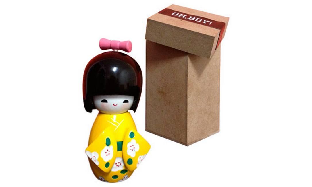 A bonequinha japonesa da Oh Boy! Divulgação