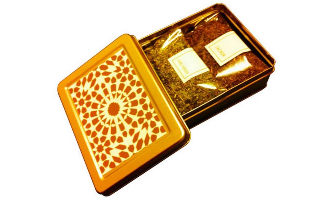 A caixinha de chá da Sacada: inspiração marroquina Divulgação