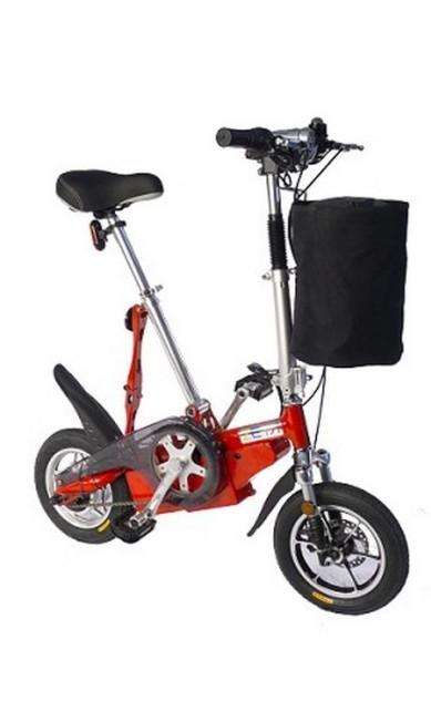 Zeta Bike elétrica e dobrável (www.zetabike.com.br), R$ 2.800 Divulgação