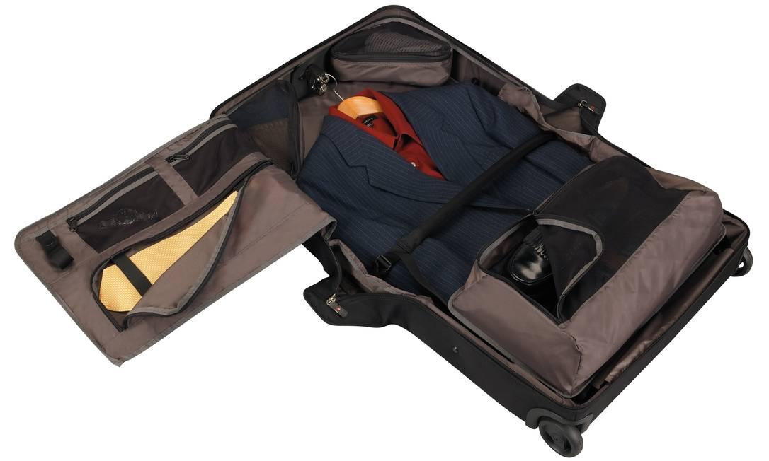 Mala WT East/West Garment Bag, da Victorinox Travel Gear (www.allbags.com.br), R$ 1.090 Divulgação