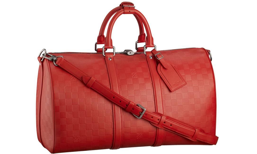 Bolsa Kerepall Damier Infini Fushion, da Louis Vuitton (Rua Garcia D'Ávila 114), R$ 6.050 Divulgação