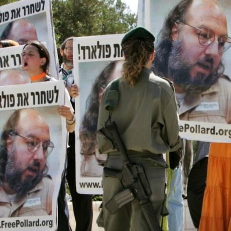 Jonathan Pollard ainda é tema de discórdia entre EUA e Israel Foto: Reuters