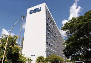 Fachada do prédio da CGU Foto: Jefferson Rudy / Agência Senado