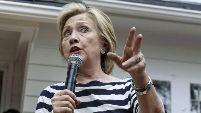 Campanha. Hillary discursa para eleitores em campanha em Des Moines, Iowa Foto: BRIAN FRANK / BRIAN FRANK/REUTERS
