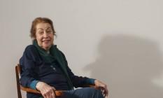 Sucesso. Aos 86 anos, Aída festeja a mostra com suas peças inéditas Foto: Divulgação/Kitty Paranaguá