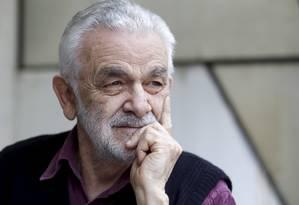 José Villani, ex-preso politico de Juiz de Fora Foto: Agência O Globo / Gustavo Stephan