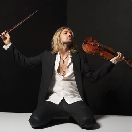David Garrett interpretou o violinista italiano Niccolo Paganini em filme Foto: Divulgação / Divulgação