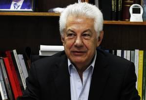 Deputado Arlindo Chinaglia (PT-SP) Foto: Jorge William / Arquivo O Globo