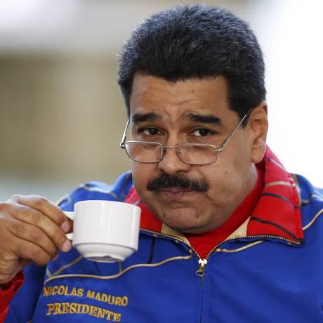 """Maduro criticou medidas de ajuste econômico exigidas da Grécia por líderes europeus, e os chamou de """"sicários"""", citando o premier espanhol Foto: CARLOS GARCIA RAWLINS / REUTERS"""