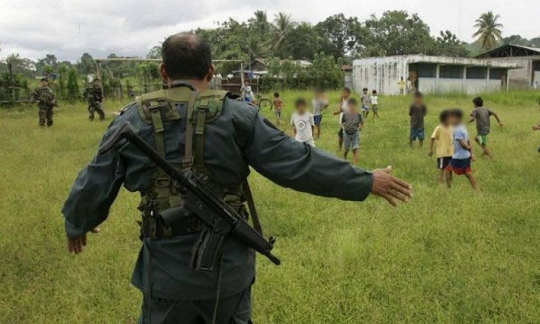 Sendero Luminoso mantém práticas de guerrilha que envolvem sequestro Foto: Arquivo / El Comercio/GDA