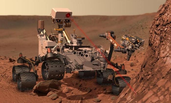 Curiosity Foto: NASA