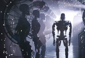 """Em """"O Exterminador do Futuro"""", humanidade é ameaçada pela inteligência artificial Foto: DIVULGAÇÃO"""