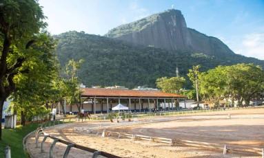Sob suspeita. A pista da Sociedade Hípica Brasileira: os cavalos do clube serão submetidos a exame para averiguar risco de mormo no local Foto: Divulgação/SHB