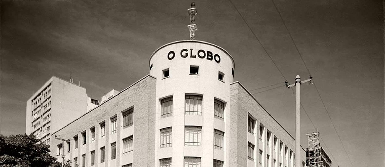 Prédio da Rua Irineu 35, em 1954 Foto:  / Agência O Globo