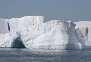 Aquecimento global causa derretimento de geleiras na Antártica Foto: Science