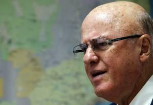 Othon Luiz Pinheiro da Silva, presidente licenciado da eletronuclear Foto: Gustavo Miranda (11/03/2014) / Agência O Globo