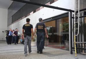 Prédio da Eletronuclear, no Centro do Rio, alvo de ação da PF Foto: Custódio Coimbra / O Globo