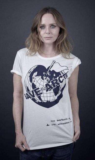 A estilista Stella McCartney Andy Gotts