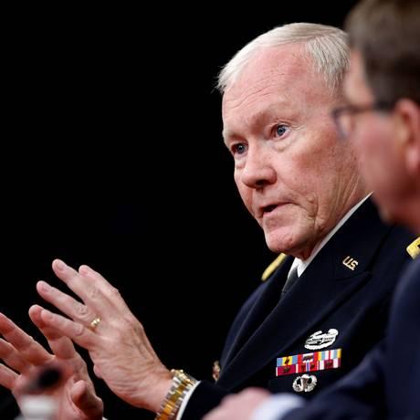 Rede era utilizada pelo chefe de Estado-Maior, Martin Dempsey Foto: Andrew Harnik / AP