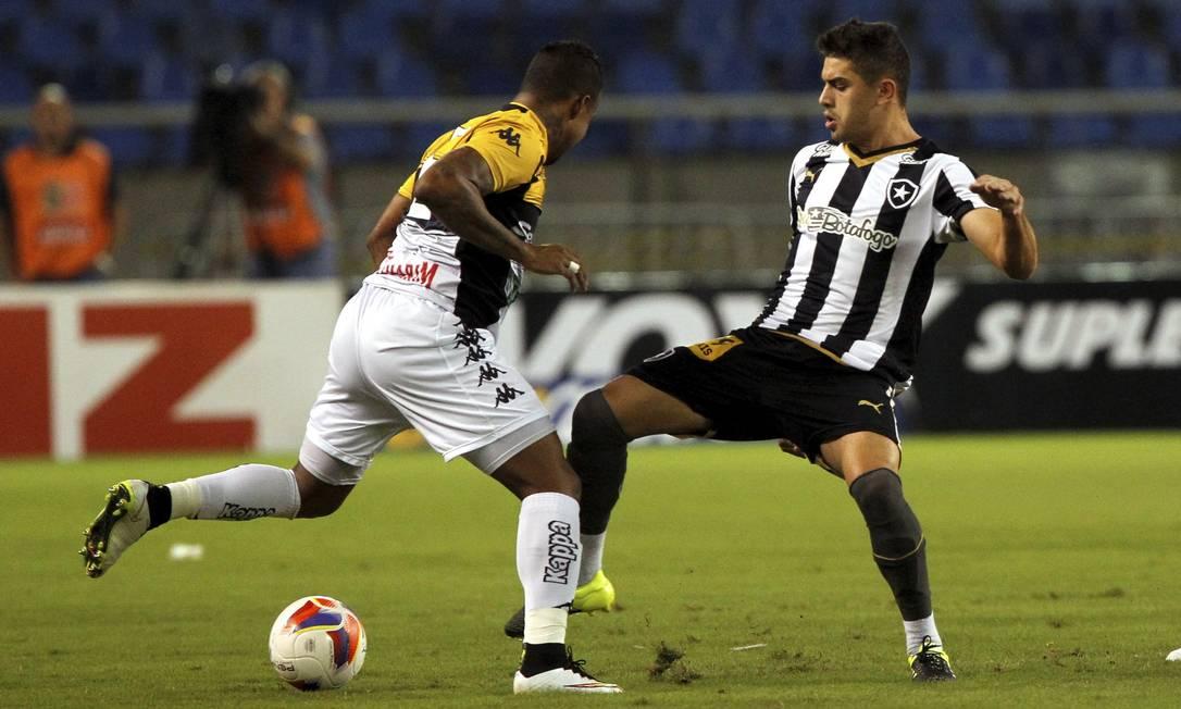 Gegê tenta conquistar espaço no Botafogo Cezar Loureiro / Agência O Globo
