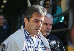 Flávio David Barra, executivo da Andrade Gutierrez, foi preso na 16ª fase da Operação Lava-Jato Foto: Geraldo Bubniak / Agência O Globo 29/07/2015