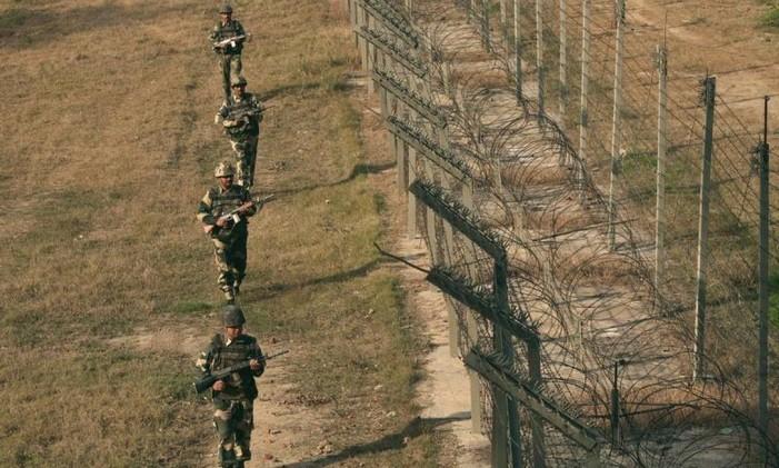 Fronteira do Paquistão Foto: Reuters