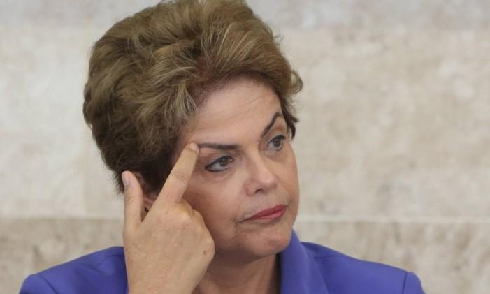 A presidente Dilma Rousseff Foto: Ailton de Freitas/28-07-2015 / Agência O Globo