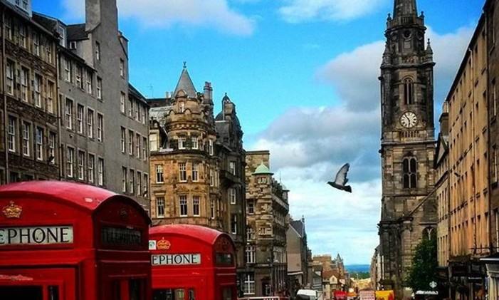 Edimburgo, Escócia Foto: @moisesept / Instagram