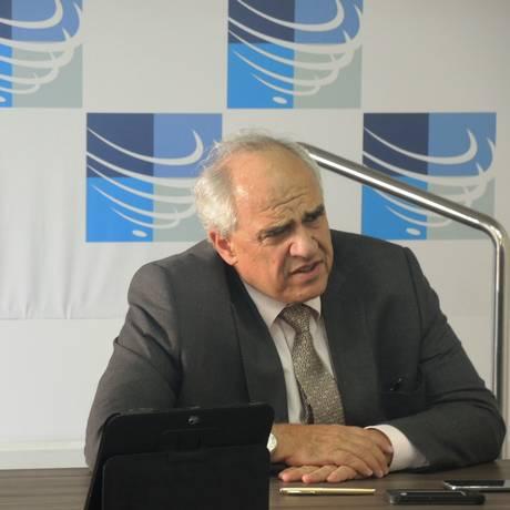 Ernesto Samper, secretário-geral da Unasul, durante visita ao Rio em maio Foto: Divulgação