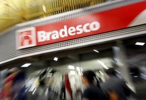 Agência do Bradesco em Brasília Foto: Adriano Machado / Bloomberg
