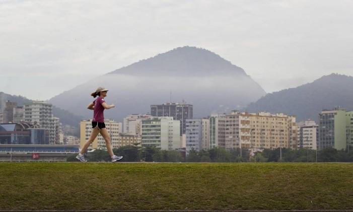 Ao ar livre, sem lenço nem documento Foto: Márcia Foletto / Agência O Globo