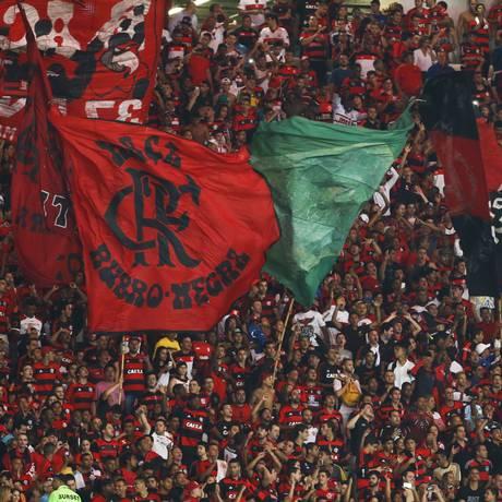 O Flamengo tem a segunda melhor média de público do Brasileiro, com 30 mil pagantes por jogo Foto: Guito Moreto / Agência O Globo