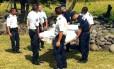 Peça de dois metros foi achada por pessoas em uma praia da ilha francesa de Réunion, que fica a leste de Madagascar